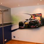 Deco chambre ado voiture - Decoration chambre voiture ...