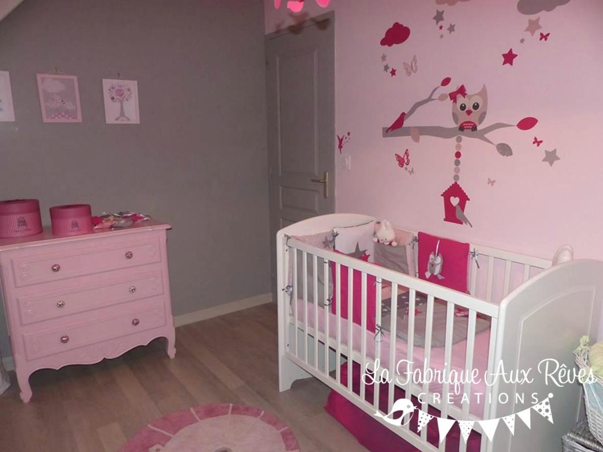 Deco chambre bebe gris et rose - Deco chambre bebe fille rose et gris ...
