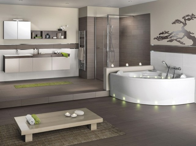 Deco chambre de bain for Chambre de bain decoration