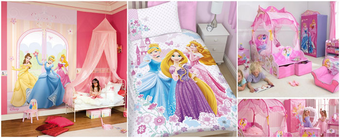 deco chambre fille princesse disney visuel 5. Black Bedroom Furniture Sets. Home Design Ideas