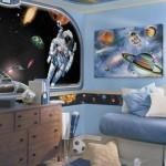 deco chambre garcon planete
