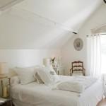 deco chambre lit blanc