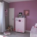deco chambre rose et gris
