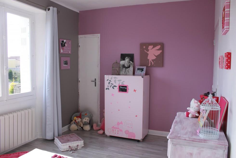 Chambre Rose Et Aubergine - onestopcolorado.com -