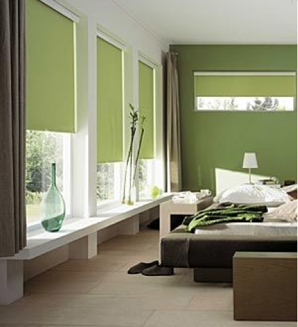 deco chambre vert kaki. Black Bedroom Furniture Sets. Home Design Ideas