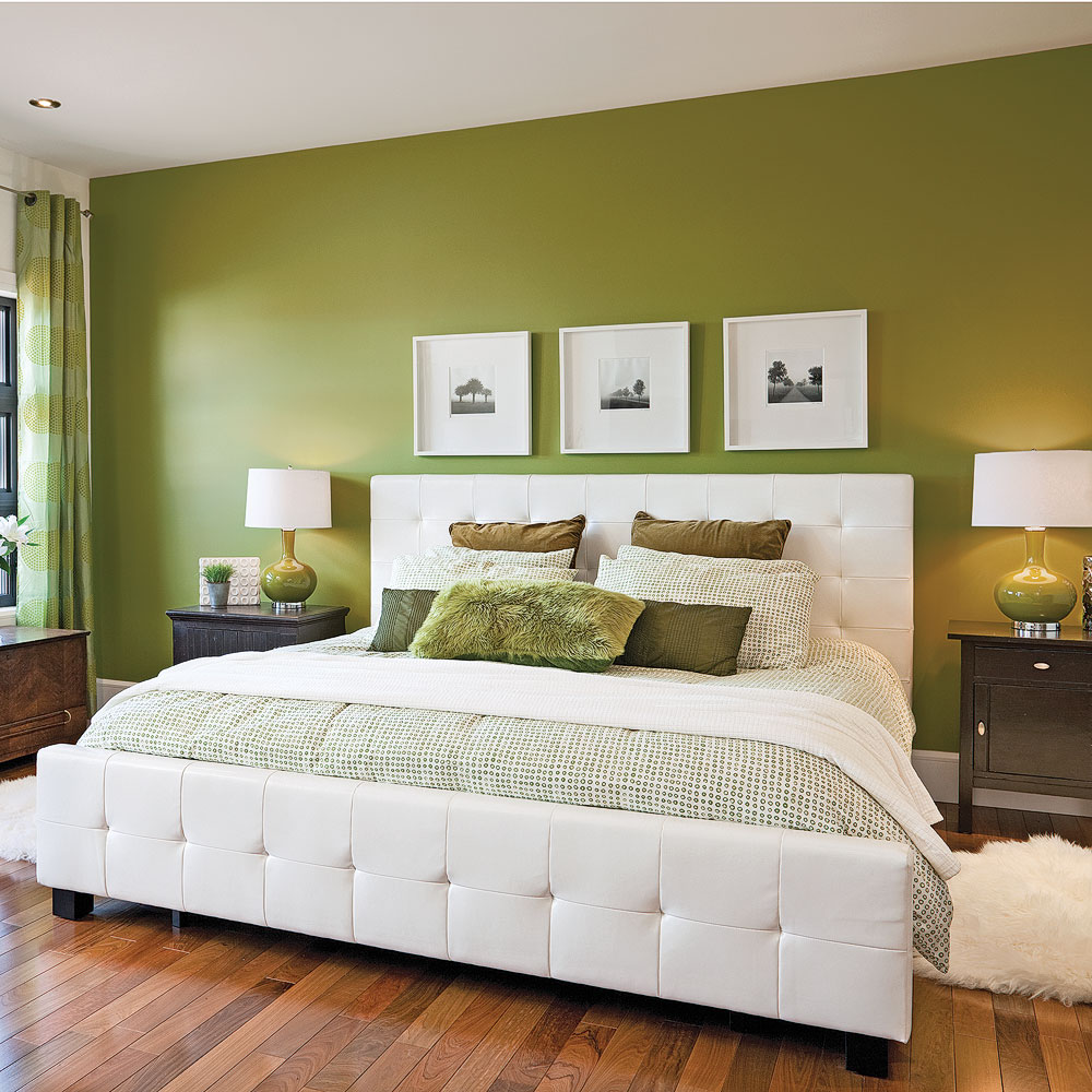 exemple deco chambre hotel kaki. Black Bedroom Furniture Sets. Home Design Ideas