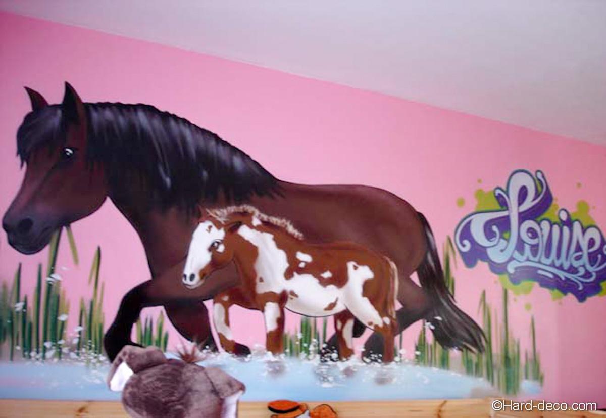 deco de chambre theme cheval. Black Bedroom Furniture Sets. Home Design Ideas