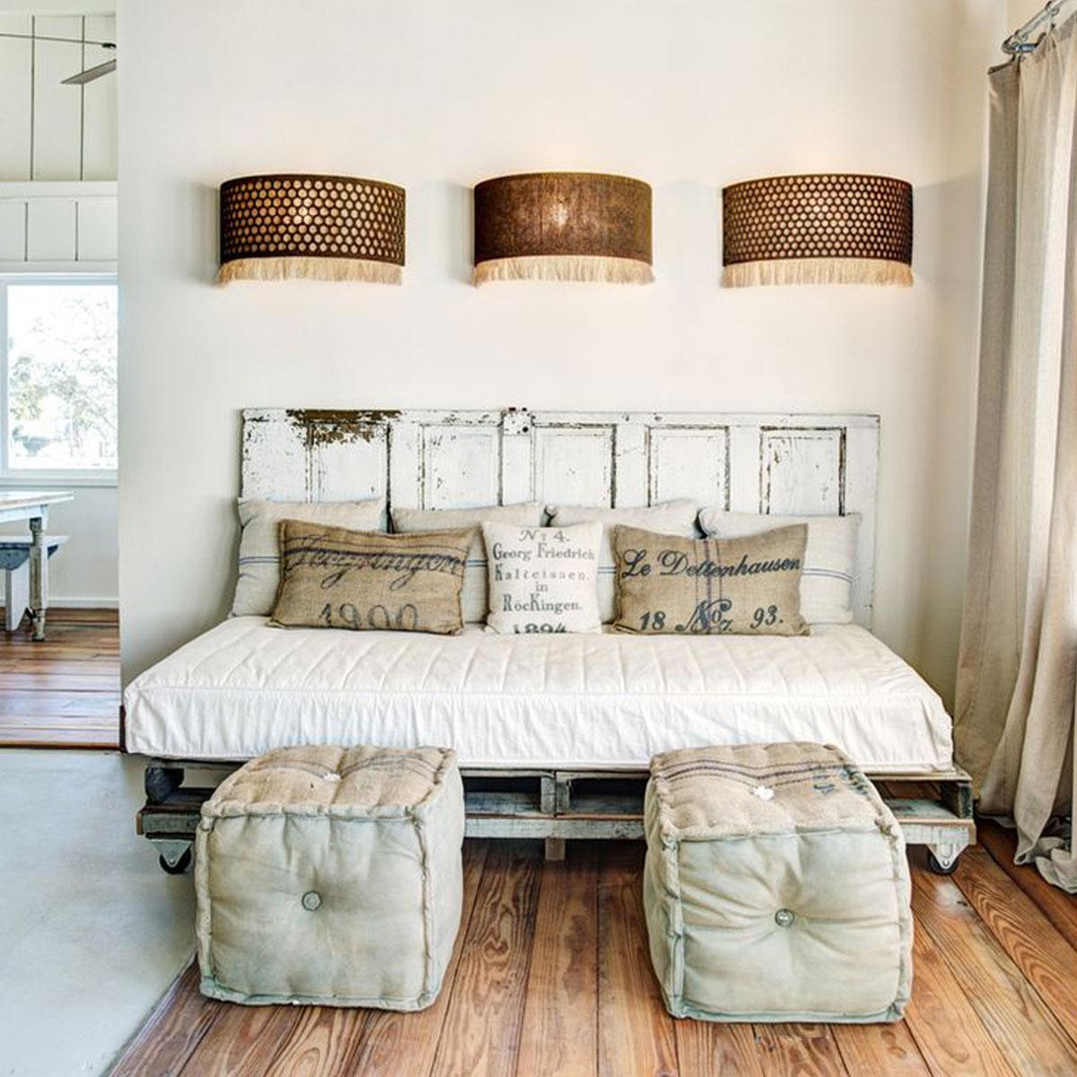 Deco tete de lit a faire soi meme - Tete de lit capitonnee fait maison ...