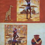 decoration africaine a fabriquer