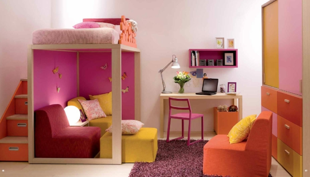 Decoration Chambre Ado Fille Pas Cher Visuel 3