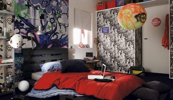 Decoration mur chambre ado