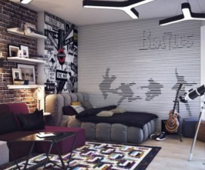 decoration chambre ado mur