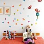 decoration chambre bebe a pois