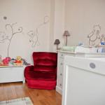 decoration chambre bebe theme ourson