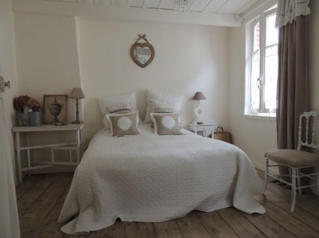 decoration chambre epuree