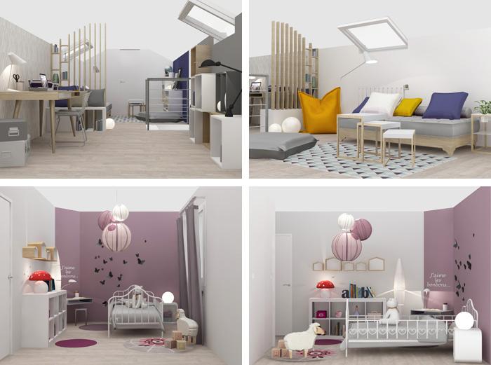 Awesome Chambre Damis Bureau Ideas - Design Trends 2017 ...
