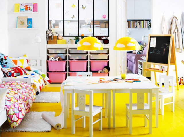 Decoration chambre fille jeux for Jeux deco maison