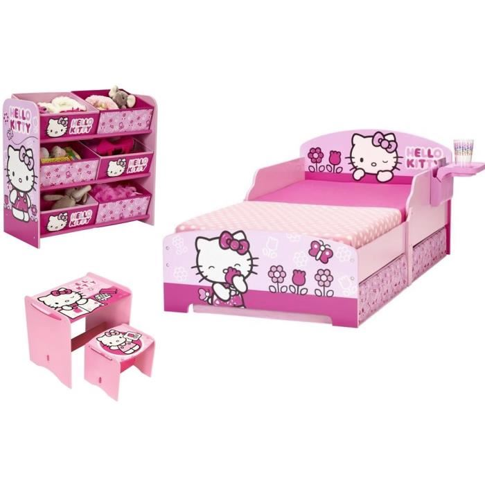 decoration chambre hello kitty pas cher. Black Bedroom Furniture Sets. Home Design Ideas