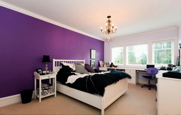 Awesome Chambre A Coucher Mauve Et Noir Gallery - Yourmentor.info ...