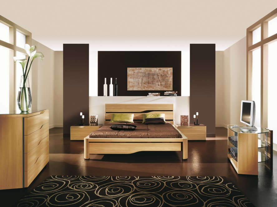 Parental Chambre Marron Beige