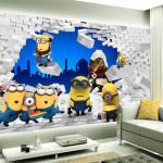 decoration chambre minion
