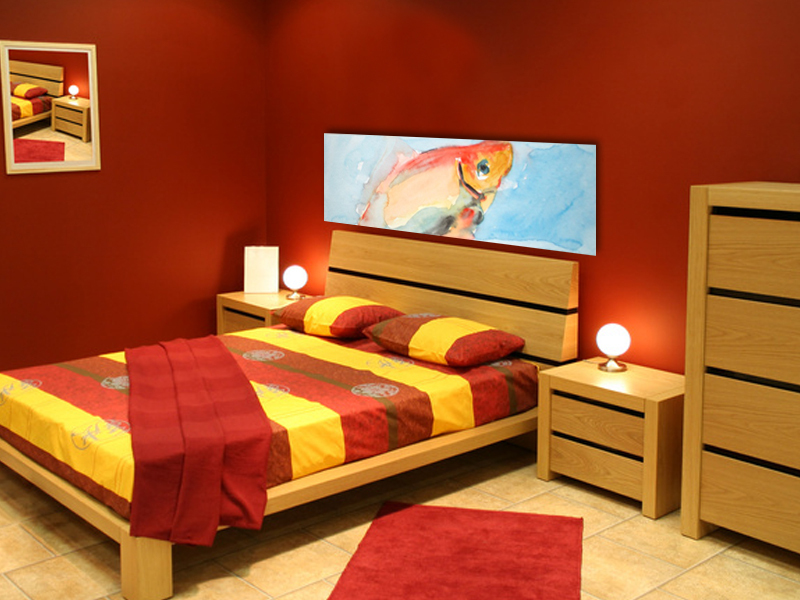 Chambre Orange Et Rouge - onestopcolorado.com -
