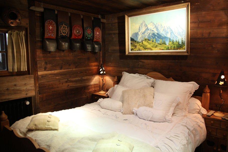 decoration chambre rustique adulte - visuel #8