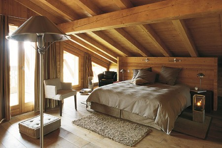Awesome d coration style chalet gallery transformatorio for Deco chambre style chalet