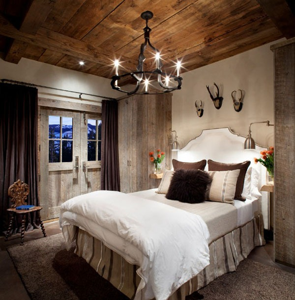 Awesome Deco Chambre Style Chalet Contemporary - Design Trends 2017 ...