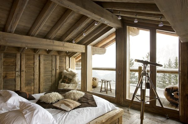 Stunning Chambre Style Chalet De Montagne Gallery - Design Trends ...