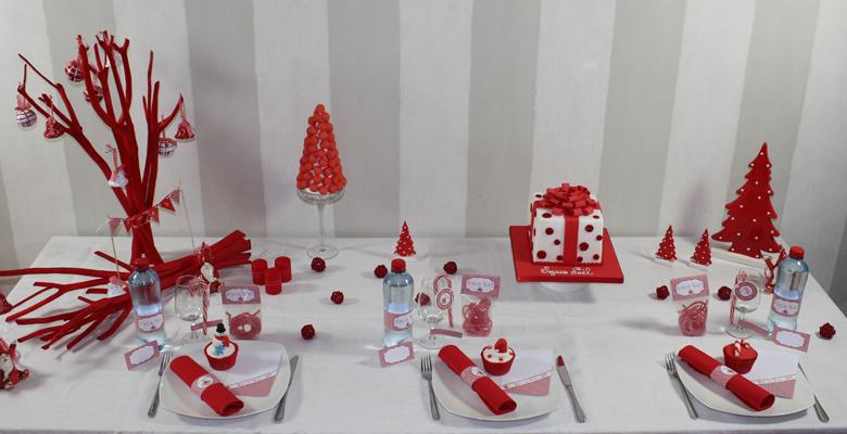 Decoration De Table Pour Noel A Fabriquer
