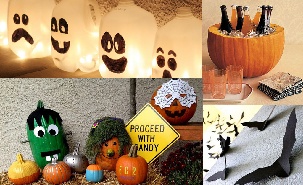 Decoration halloween a faire soi meme facile - Deco facile halloween ...