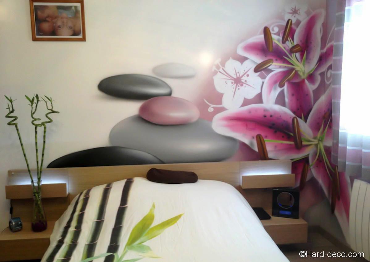 Decoration murale chambre zen - Idee deco chambre zen ...