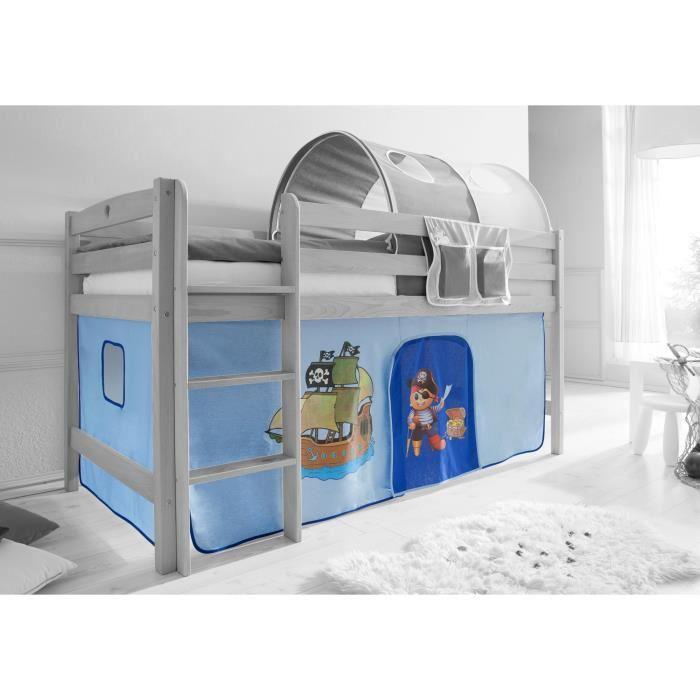 decoration pour lit mezzanine visuel 4. Black Bedroom Furniture Sets. Home Design Ideas