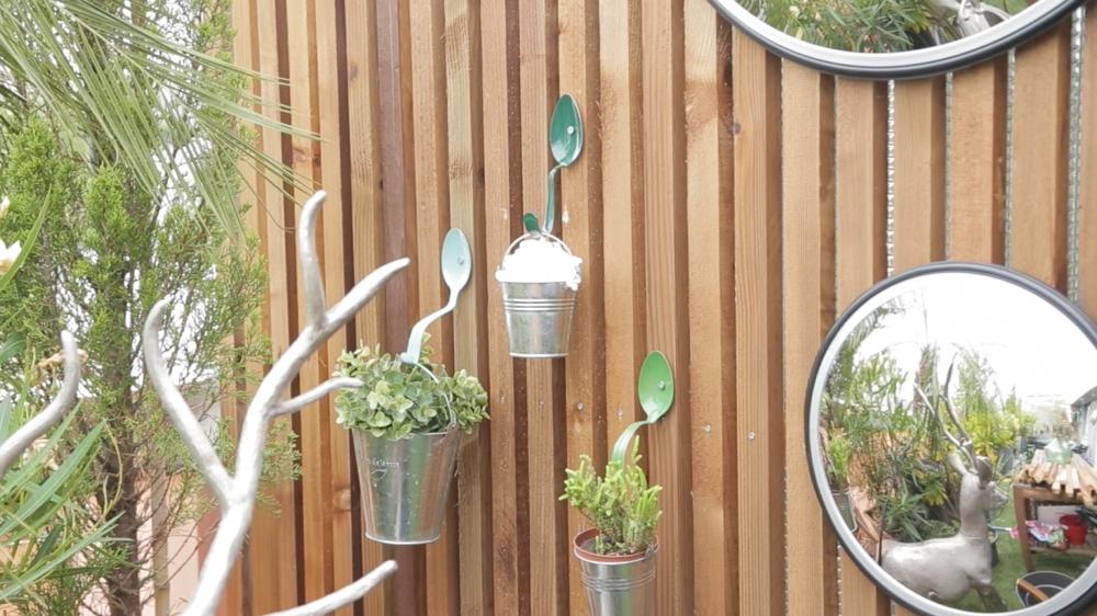 Awesome fabriquer objet deco jardin images for Objet decoration jardin