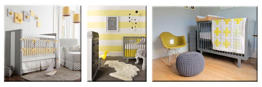 idee deco chambre bebe jaune - visuel #3