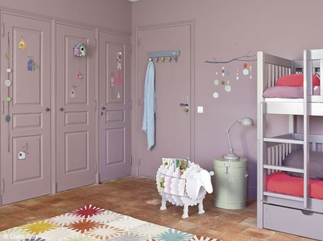 Idee decoration chambre de bebe fille for Decoration chambre de bebe fille