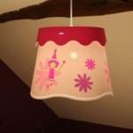 luminaire pour chambre de fille
