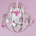 luminaires chambre bebe fille