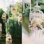 cage oiseau deco mariage