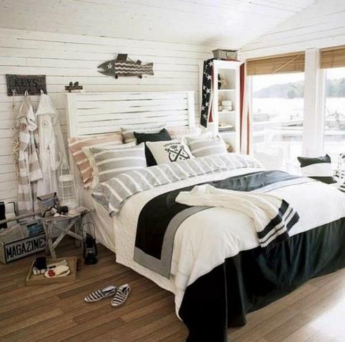 chambre decoration bord de mer