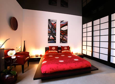 deco chambre ado asiatique visuel 3. Black Bedroom Furniture Sets. Home Design Ideas