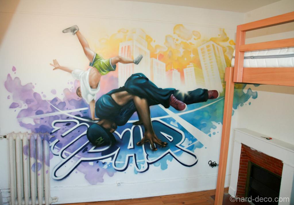 deco chambre ado hip hop