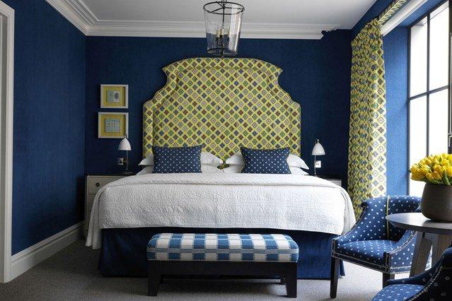 deco chambre adulte bleu - visuel #4