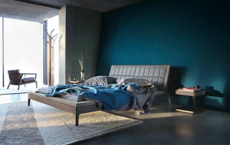 beautiful deco chambre adulte bleu photos design trends. Black Bedroom Furniture Sets. Home Design Ideas