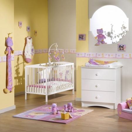 Deco chambre bebe fille ikea visuel 4
