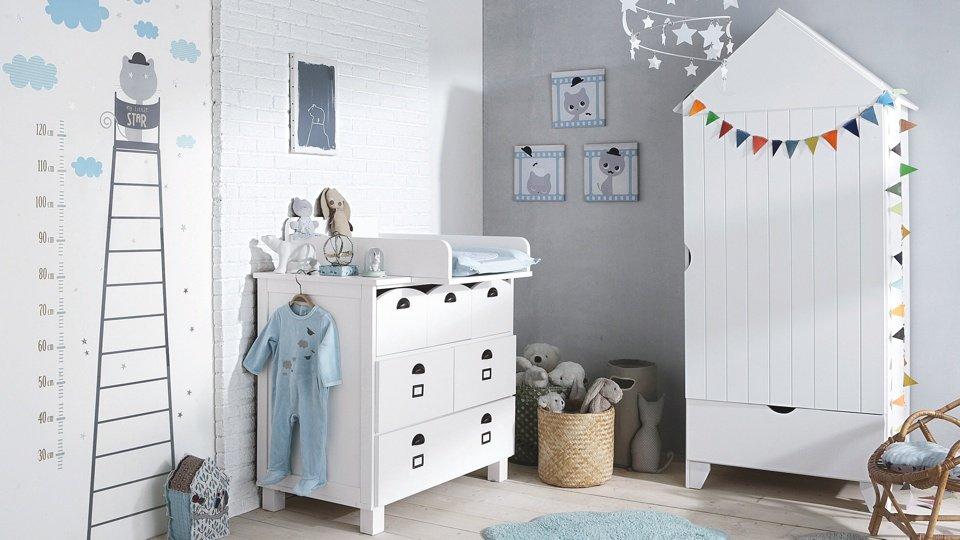 Chambre bébé style marin - Idées de tricot gratuit