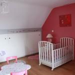 deco chambre de fille rose