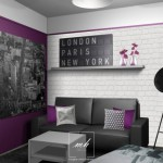deco chambre fille theme new york