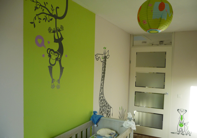 Deco chambre jungle savane for Decoration chambre jungle
